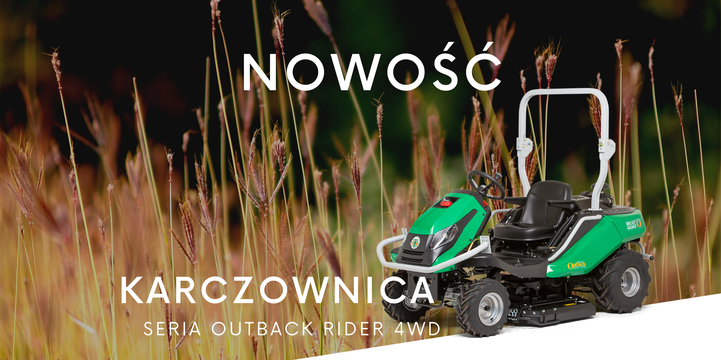 Karczownica seria Outback Rider 4 WD